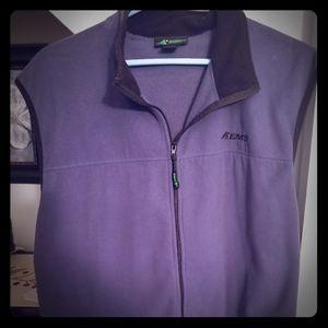 EMS men's fleece vest